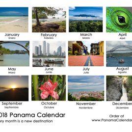 2018 Panama Wall Calendar